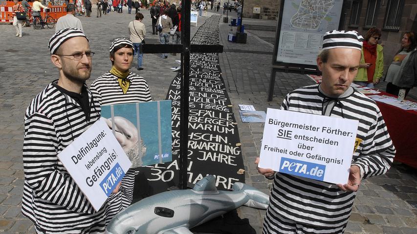 Schon zu diesem Zeitpunkt formierten sich zahlreiche Gegner, die das Projekt verhindern wollten. Sie kritisierten die schlechte Haltung der Delfine, die in einer Lagune nicht artgerecht verwirklicht werden könnte. Außerdem versuchte man die entstehenden Kosten zu verhindern.