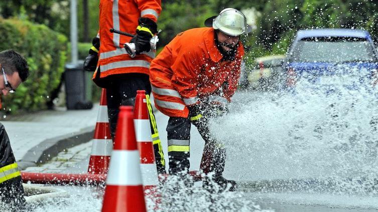 Hochwasser im Landkreis Forchheim