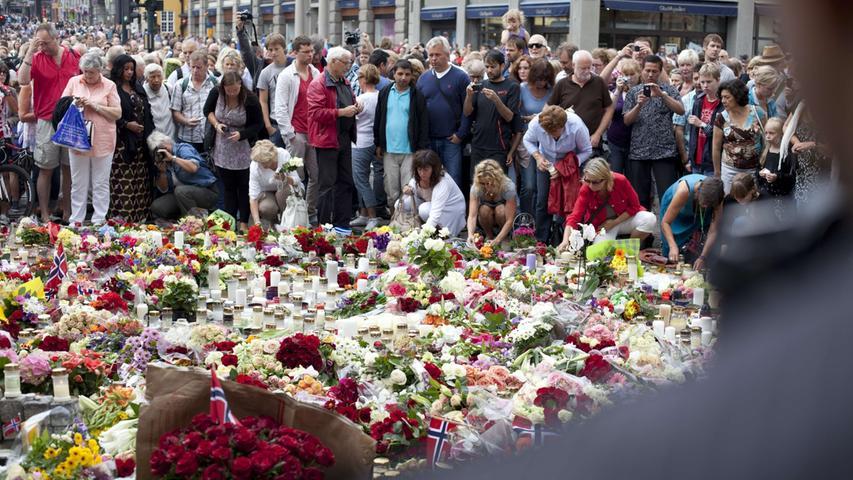 Ein Jahr danach: Der blutige Doppelanschlag in Norwegen