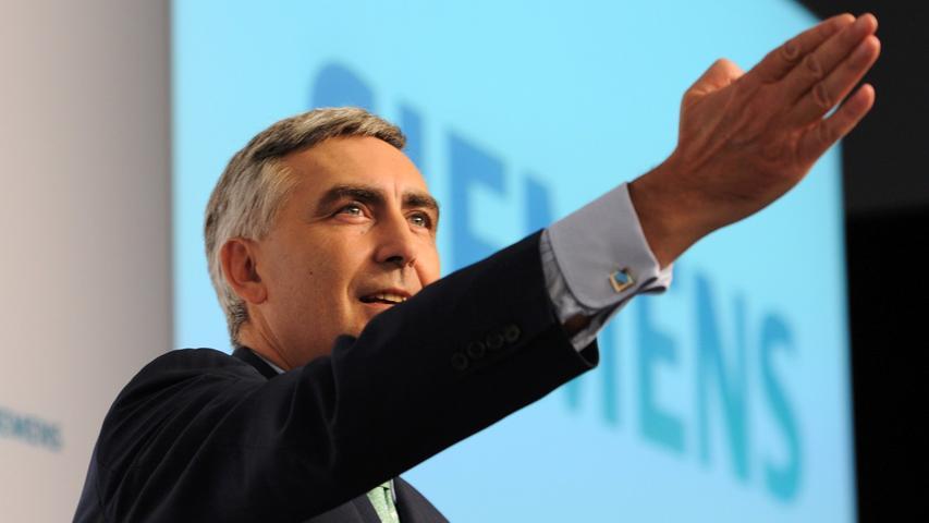 Siemens nach turbulentem Jahr vor ungewisser Zukunft