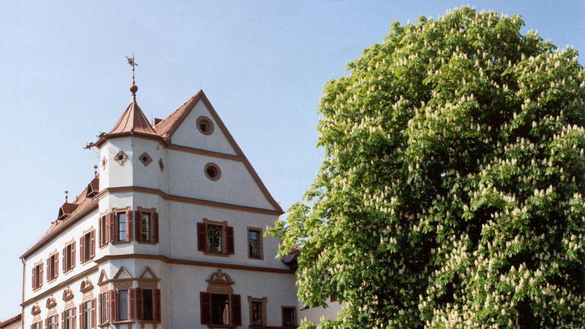 1594 wurde im Stadtschloss Treuchtlingen der Reitergeneral Gottfried Heinrich von Pappenheim geboren. Dieser Mann wurde später in Schillers