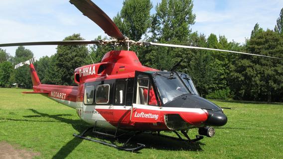 Hubschraubereinsatz Nürnberg