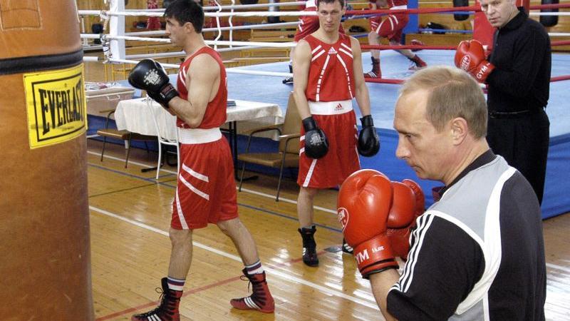 Sportskanone Putin: Schwitzen für die Popularität