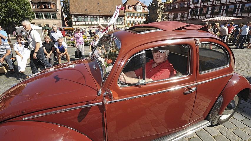 Der von Reinhold Hartl präsentierte VW-Käfer wurde im Jahr 1958 gebaut.
