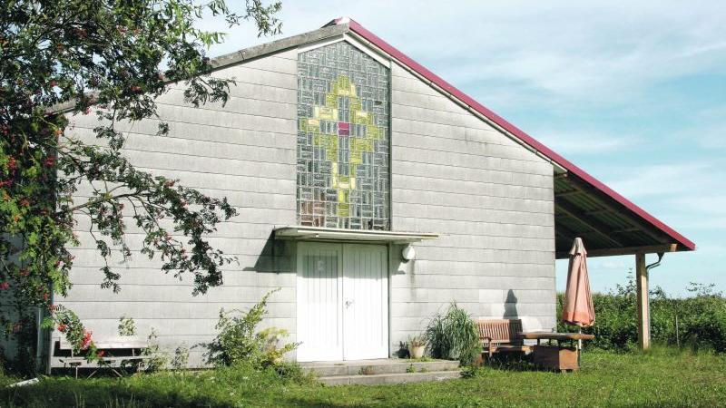 So gut wie nichts mehr erinnert daran, dass dieses Gebäude einmal eine Kirche war. Es soll künftig als Lagerhalle genutzt werden.