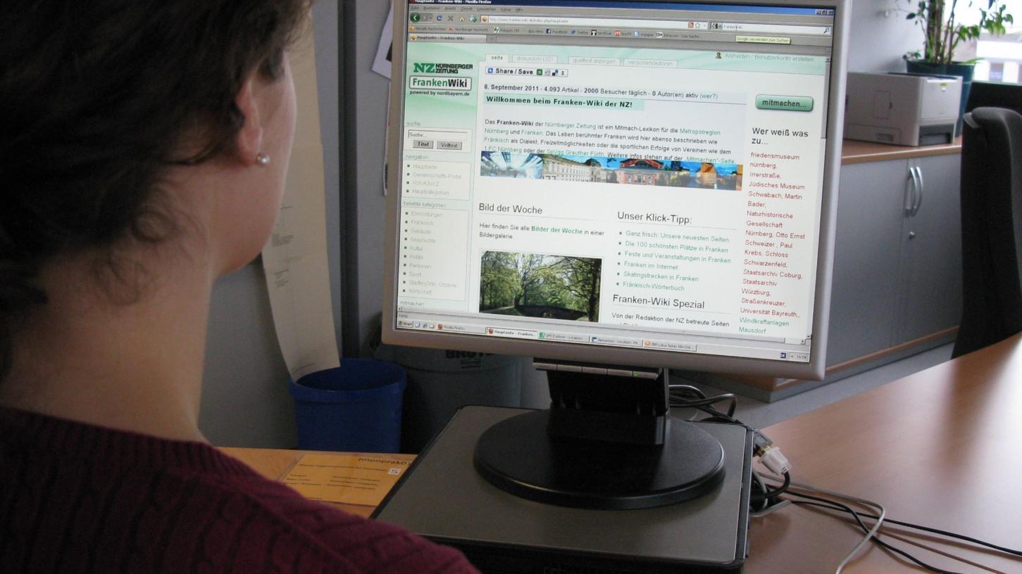 Das Franken-Wiki erfreut sich immer größerer Beliebtheit, auch außerhalb der Region.