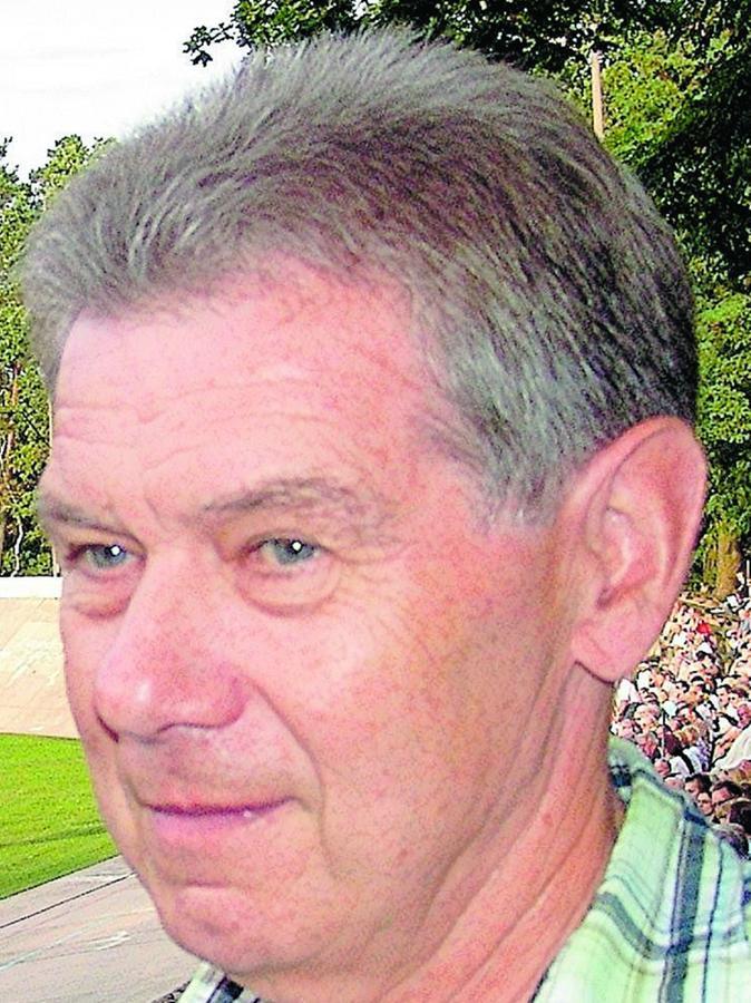 """Horst Gnas ist noch immer Stammgast am """"Keller""""."""