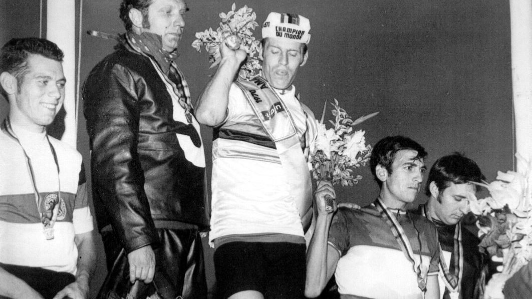 Von 1971 bis 1973 gewann Horst Gnas dreimal die WM der Steher.