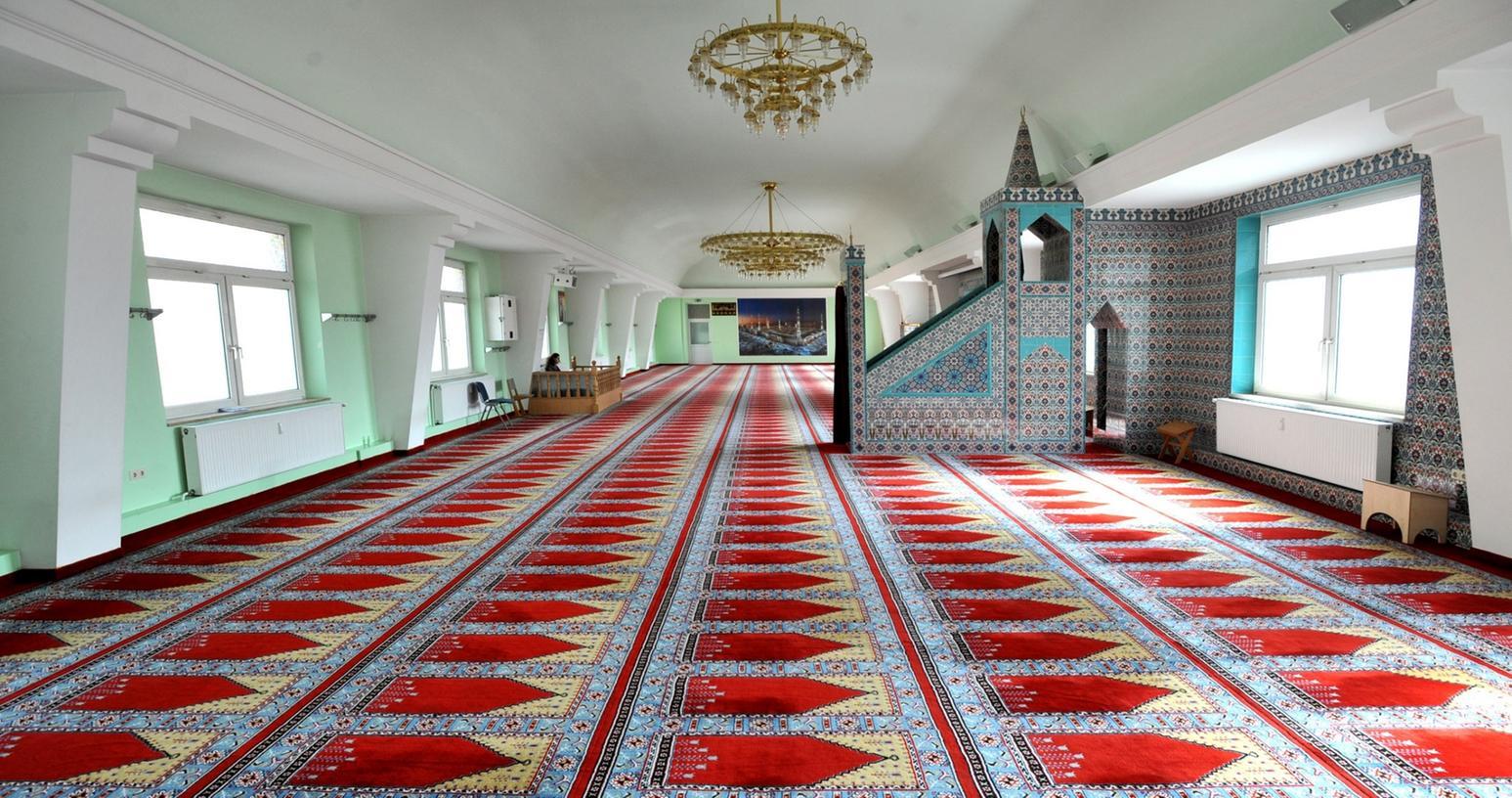 Auch die Moschee kann man im Rahmen der interkulturellen Woche besichtigen.