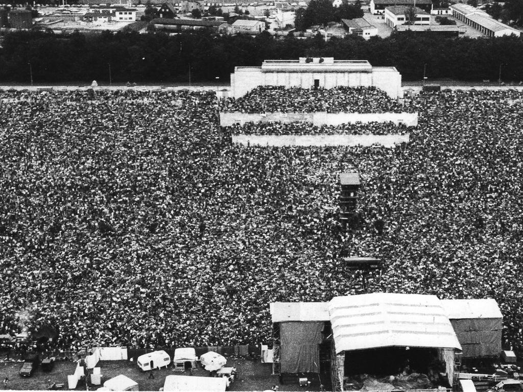 Konzert von Bob Dylan Zeppelintribüne Nürnberg vom 3.7.1978