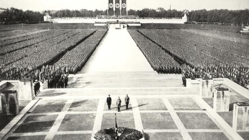 Warum eigentlich Nürnberg? Es waren eher pragmatische Gründe, warum die Nazis ab 1933 jeweils in der ersten Septemberhälfte die zumeist acht Tage dauernden