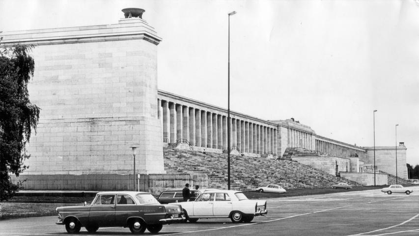 Zeppelintribüne, 60er Jahre.