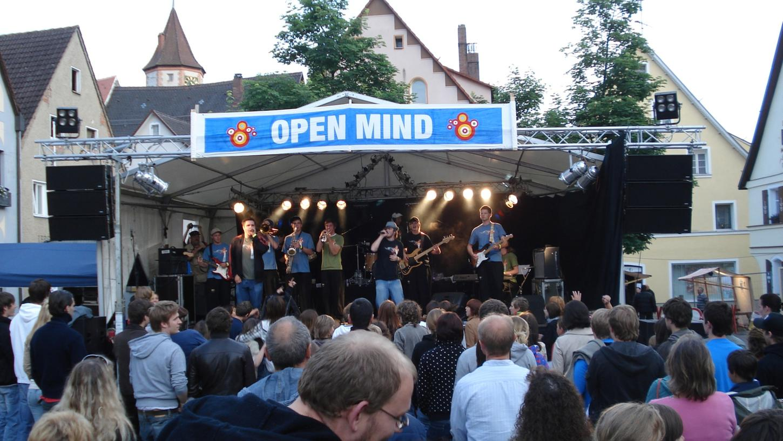 Das 10. Open Mind Festival am 10. Septemberg in Gräfenberg könnte das letzte sein.