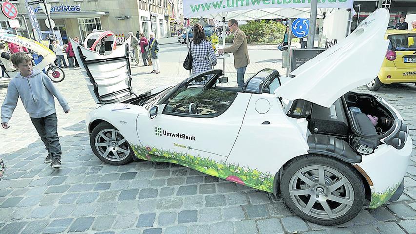Hängt die Zukunft des Autos an der Steckdose?