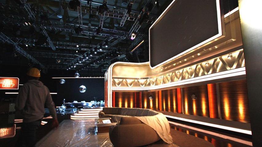 Zum dritten Mal kam die Show am 8. Oktober 2011 nach Nürnberg. Die Aufbauarbeiten im Messezentrum liefen im Vorfeld auf Hochtouren.