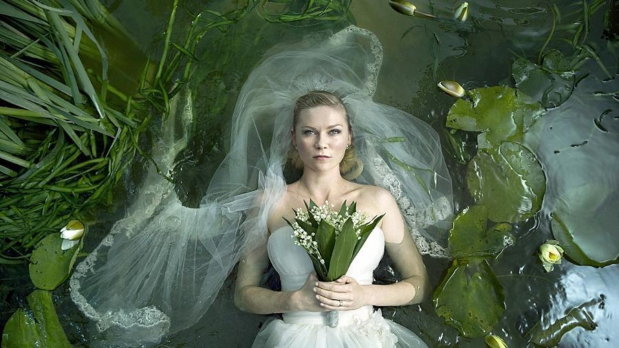 Ihre Hochzeitsfeier gerät zum Desaster: Kirsten Dunst als Justine.