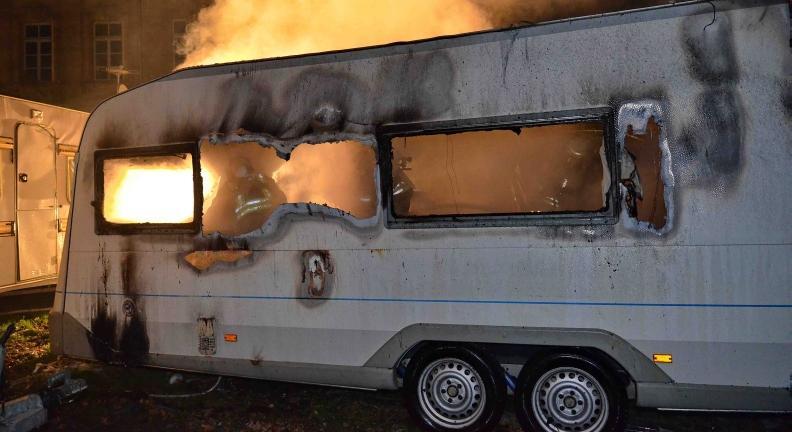 Brand und Explosionen auf der Fürther Kirchweih