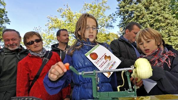 Apfelmarkt in Fürth: Eine Liebeserklärung an heimisches Obst