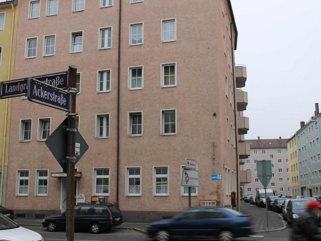 Der Mord ereignete sich in der Ackerstraße in Steinbühl.
