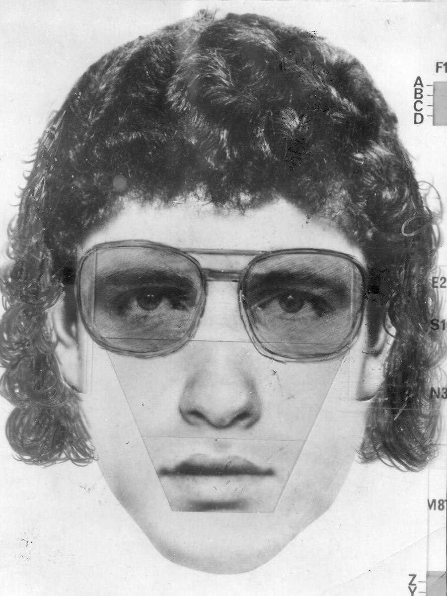Foto: Phantombild  Motiv: Mordfall Shlomo Lewin / Frida Poeschke, Erlangen 1980  NN 10.01.1981