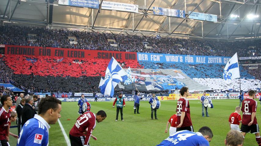 Schalke und der FCN: Sportlich-freundschaftliche Impressionen