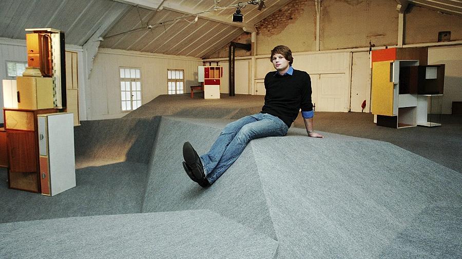 Was Gebäude und was Skulptur ist, lässt der Nürnberger Akademie-Student Daniel Hörl bewusst unklar.