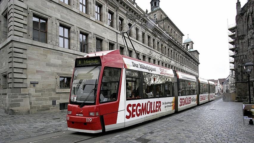 Pläne für den Nahverkehr in Nürnberg