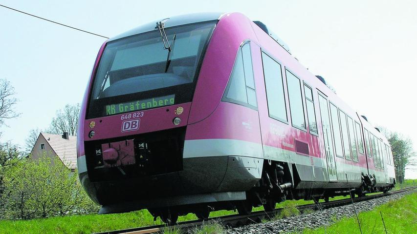 Die Durchbindung der Gräfenbergbahn zur Rangaubahn schneidet mit einem Nutzen-Kosten-Verhältnis von 1,57 gut ab. Hier ist allerdings nicht die Stadt Nürnberg zuständig, sondern die Bayerische Eisenbahngesellschaft.
