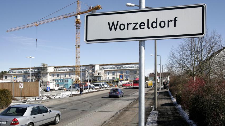 Eine Straßenbahnlinie nach Worzeldorf würde sich mit einem Wert von 0,28 nicht rechnen und Kosten von 57,3 Millionen verursachen.