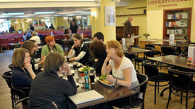 Café-Restaurant Literaturhaus, Nürnberg