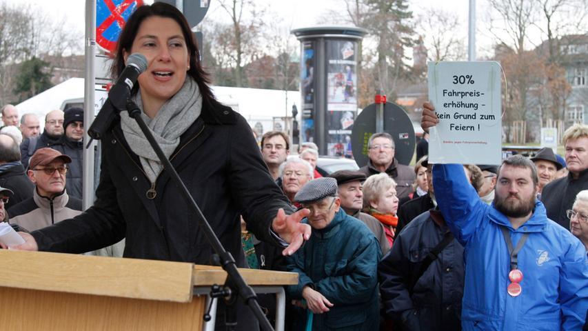 Die Rechtsanwältin, Katja Hessel aus Nürnberg wurde im Wahlkreis Nürnberg-Nord in den Bundestag gewählt.   (Klicken Sie hier für mehr Infos zu Kaja Hessel)