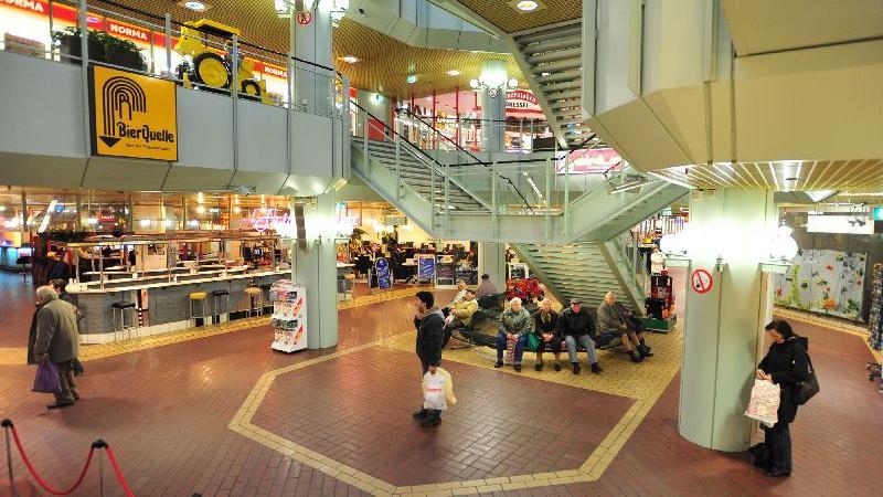 Die Leerstände im City-Center sind 2009 kaum noch zu übersehen.