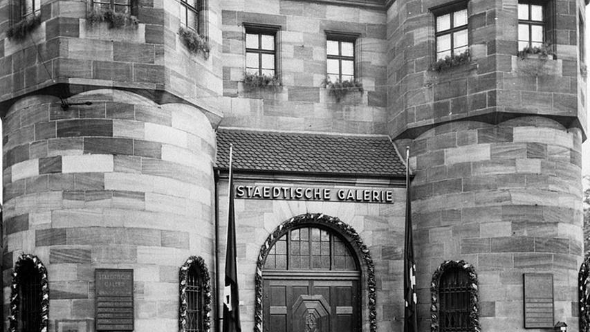 1933 übernahmen die Nationalsozialisten das Künstlerhaus. Neuer Leiter wurde Emil Stahl, der am 17. April 1933 eine der ersten
