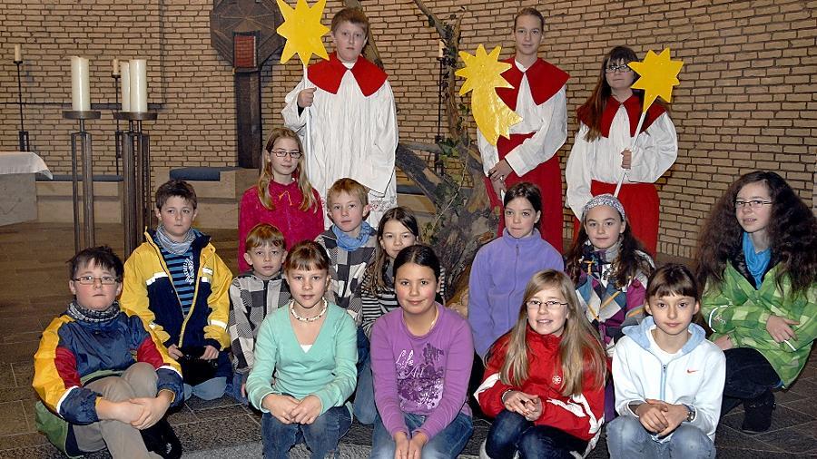 Auch die Sternsinger der Katholischen Gemeinde an der Lauseiche in Bruck werden am Freitag wieder in Gruppen unterwegs sein, um Spenden zu sammeln.