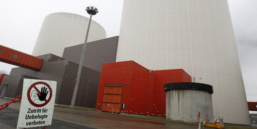 Mauern sollen atomare Zwischenlager vor Terror schützen