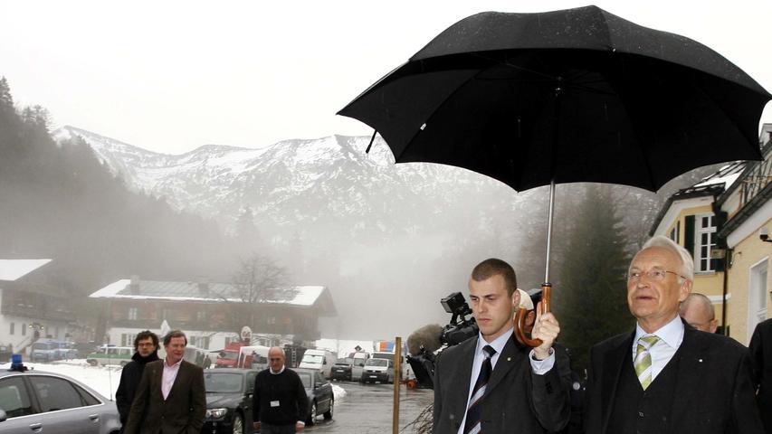 Fünf Jahre nach dem Rücktritt: CSU streitet über Stoiber