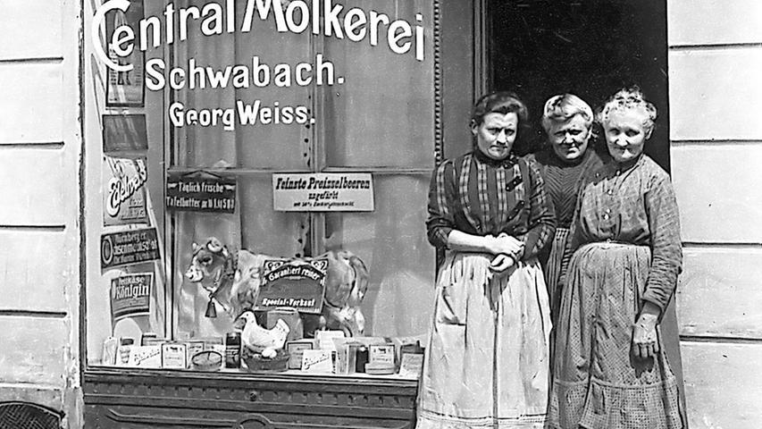 """Von der """"Milchvisitation"""" bis zum Supermarkt"""