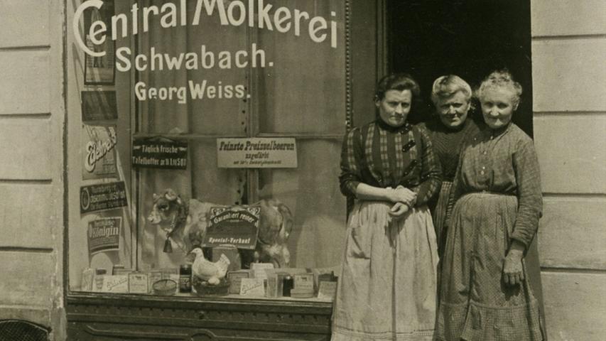 Wo kaufte man in Schwabach Milch?