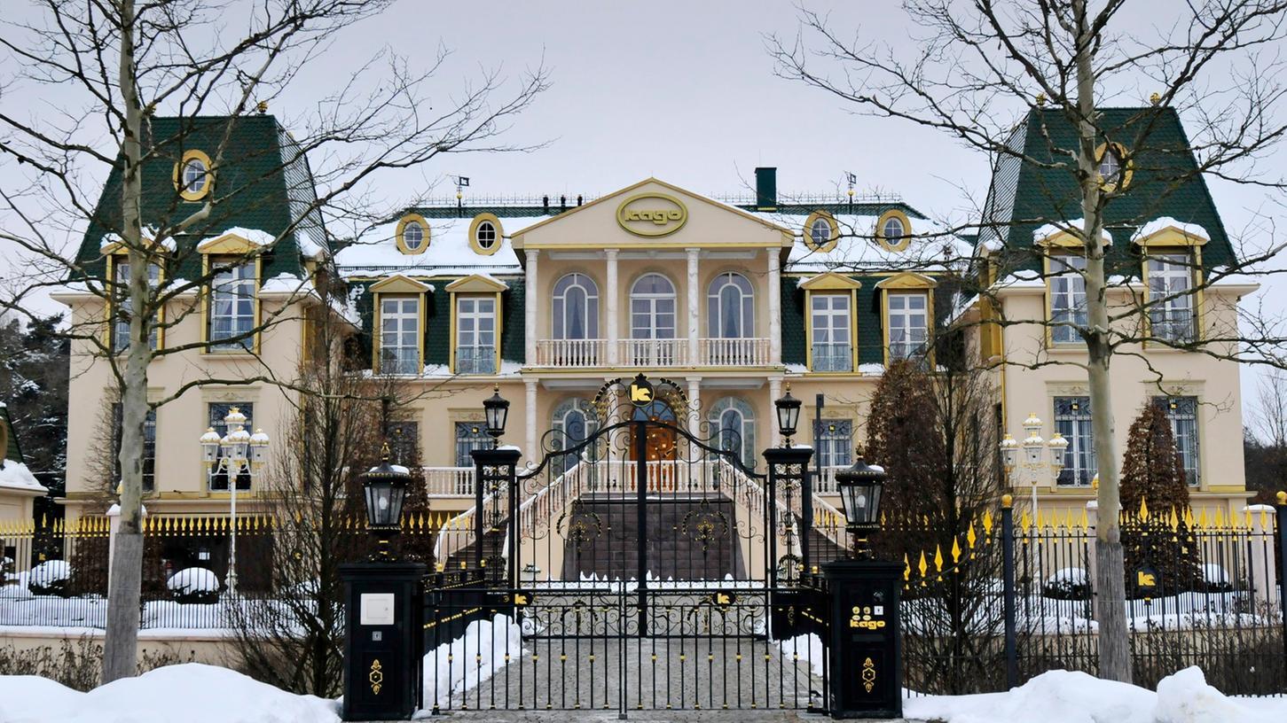 Schon an Weihnachten sollen die ersten Gäste im ehemaligen Kago-Schloss übernachten.