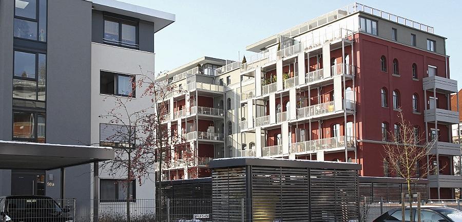 Wohnungen am Südstadtpark sind begehrt — nicht nur unter Fürthern.