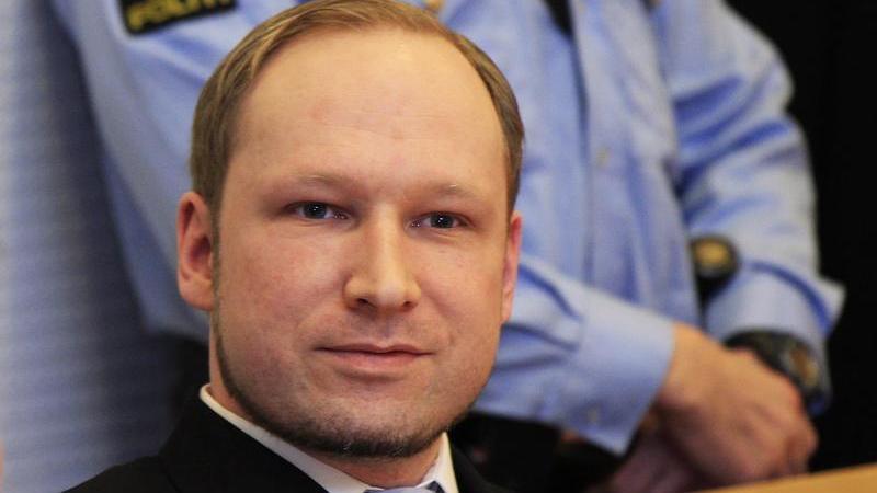 Der Prozess Anders Breivik gegen den Staat fand aus Vorsicht im Gefängnis statt.