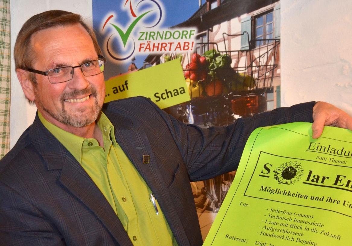 Der grüne Bürgermeisterkandidat: Wolfram Schaa.