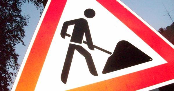 Straße zwischen Pflaumfeld und Aha wird gesperrt