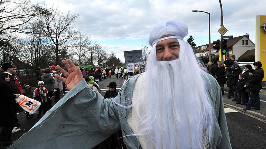 Auch Gandalf der Graue aus der Fantasy-Trilogie