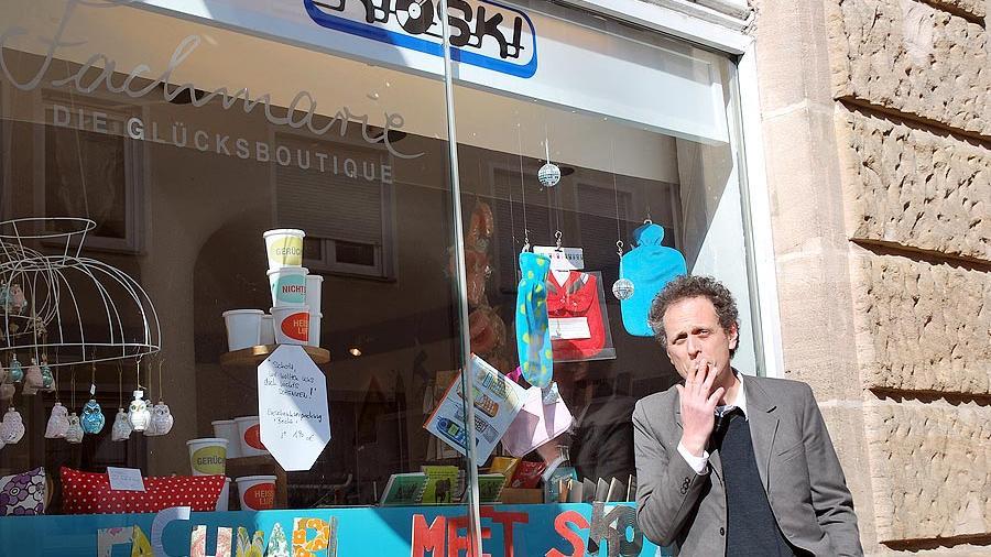 Seit kurzem kooperiert der Kioski mit der Gostenhofer Fachmarie Glücksboutique.