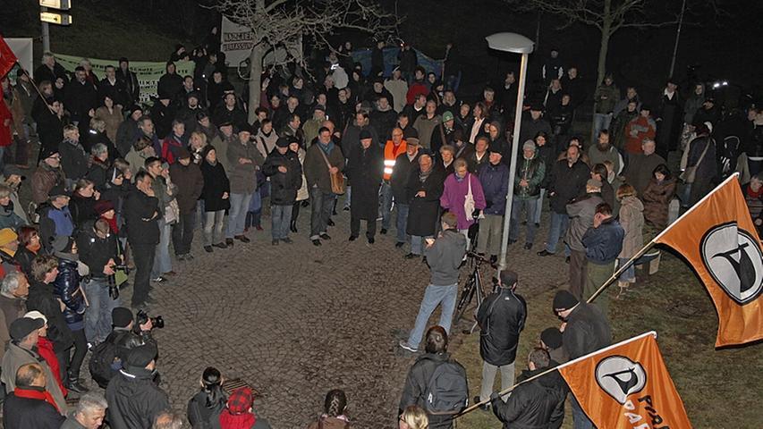 Nach Neonazi-Demo in Fürth: Polizei in der Kritik