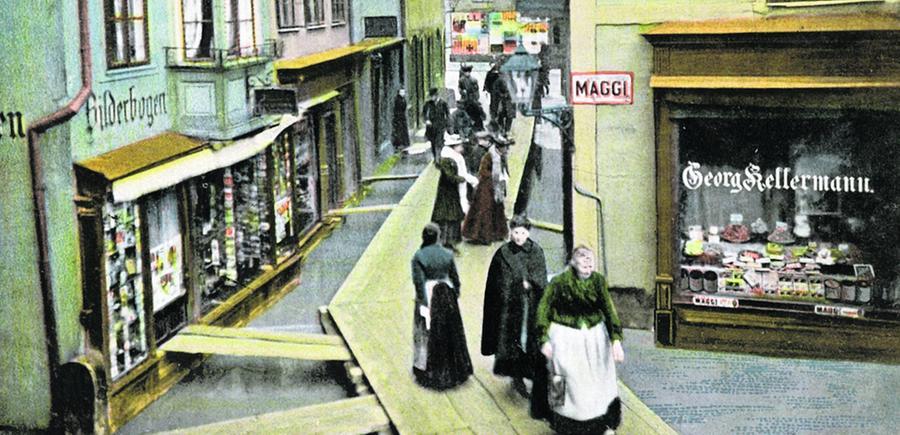 Die Pegnitz erhielt nach dem 2. Weltkrieg ein breiteres Flussbett, die früheren starren Wehre wurden durch bewegliche ersetzt.