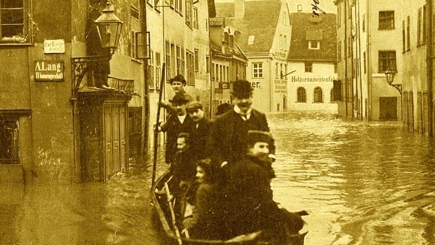 Bei den Stadtoberen bewirkte das Hochwasser ein Umdenken.
