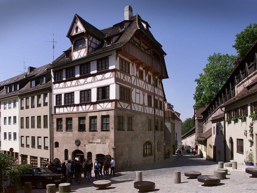 Die ehemalige Wohn- und Arbeitsstätte von Albrecht Dürer kann man im nach ihm benannten Haus sehen.
