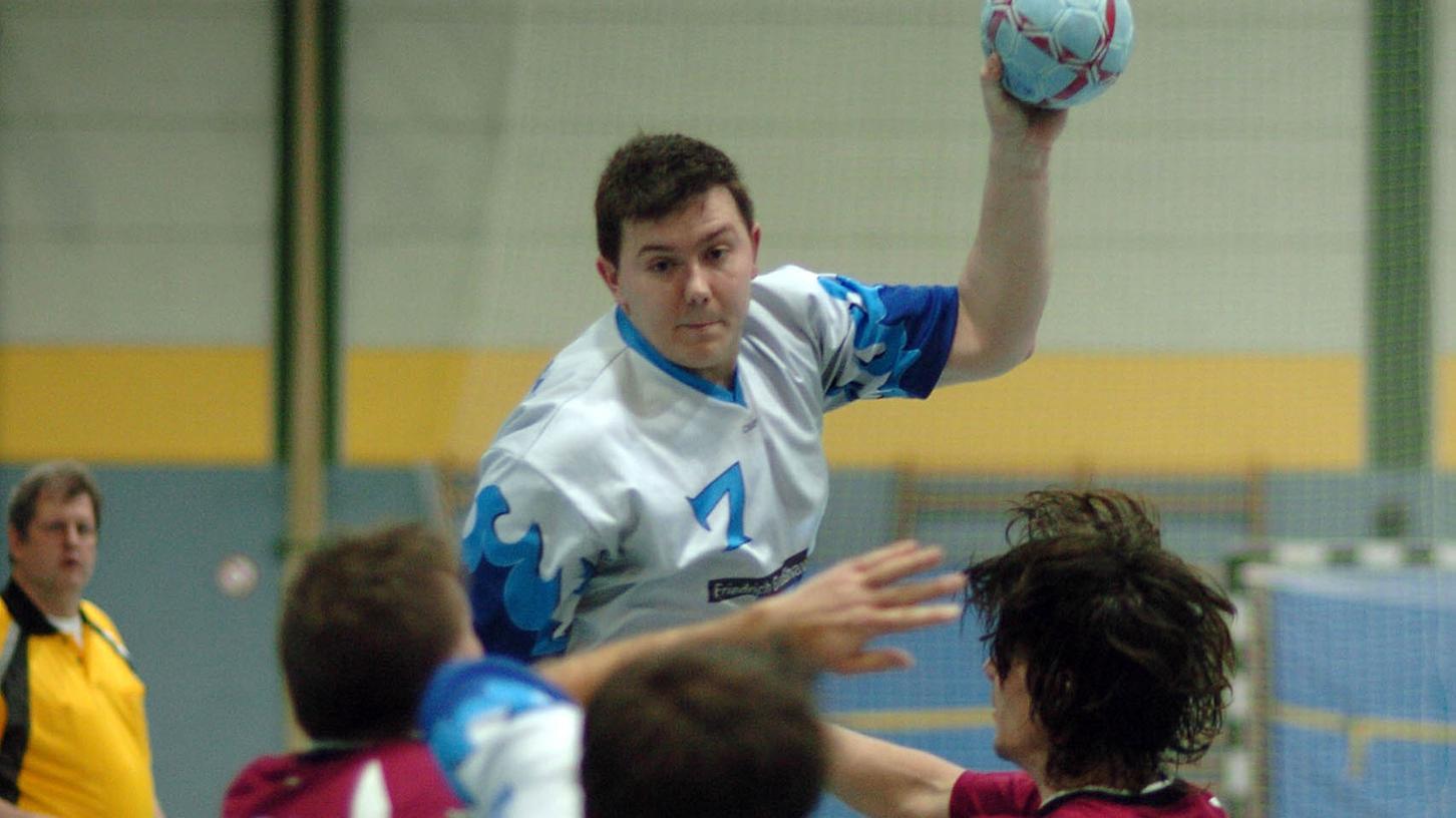 Spielte in Gunzenhausen ohne Fehl und Tadel: Frank Großhauser von der HG Zirndorf, hier bei einer früheren Partie.